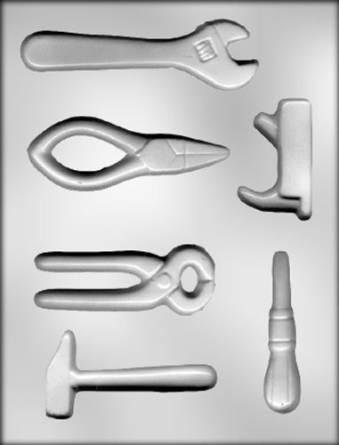 CK Products Tool Assortment Chocolate Mold by CK Products (Schimmel Flugzeuge Schokolade)