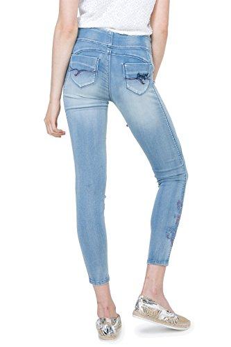 Desigual 72P2JA8 Jeans Donna Celeste L