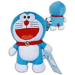Gato Doraemon Sonrisa Peluche 25cm