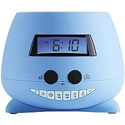 Bigben Interactive RPE01 Radio Portable Horloge Bleu - Radios Portables (Horloge, LCD, Bleu, Bleu, Image, Plafond)