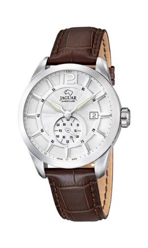Jaguar Watches Herren-Armbanduhr XL Analog Quarz Leder J663/1