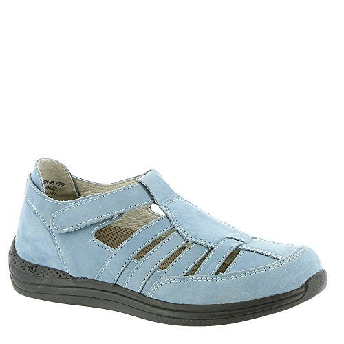 Drew Shoe - Ginger donna Light Blue-nubuck