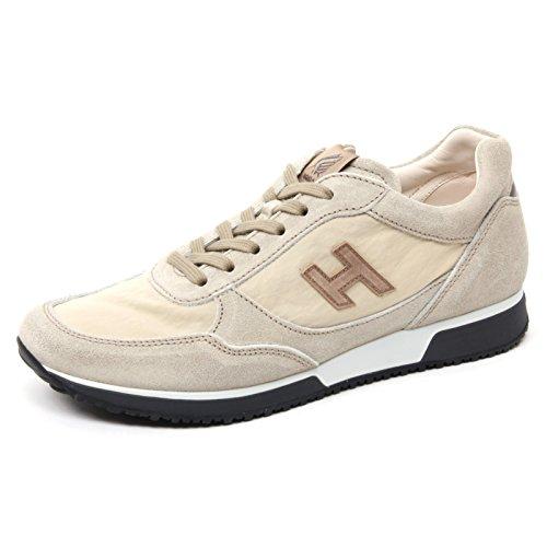 B4906 Homme Sneaker Hogan H198 Beige Chaussures De Sport Chaussure Homme Beige