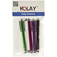 Kolay High Capacitive Aluminium Stylus Pen for Apple iPod Touch 6G (Pack of 5) - Compare prices and find best deal online