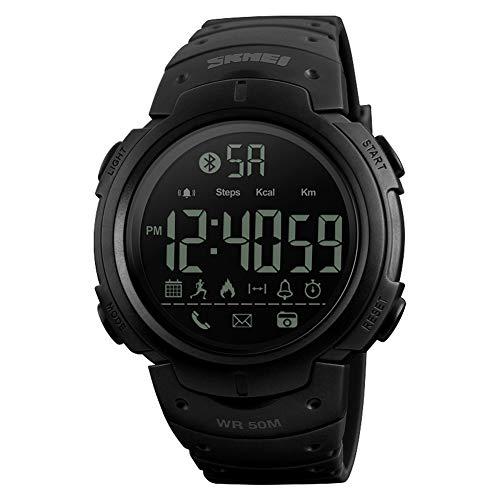 LGPNB Smart Watch Herren Damen Multifunktions Mode Sport Elektronische Uhr Bluetooth Schrittzähler Foto Information APP Anwendung Erinnerung Smart Watch