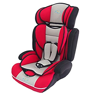 Bebe Style convertible 1/2/3 Combination Car Seat - Red   12