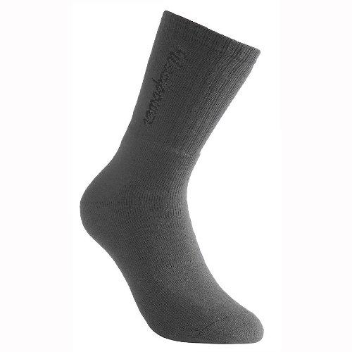 Woolpower 400 Logo Socks Unisex Grey Größe 45-48 2019 Socken