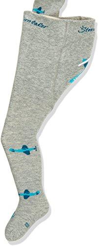 Sterntaler Strumpfhose für Babys, Flieger, Alter: 7-12 Monate, Größe: 80, Silber/Grau