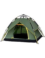 Techo automático de la cima de la montaña Tent Backpacking carpas con el bolso que lleva para 2 o 3 persona que acampa Camping que acampa