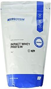 Myprotein Impact Whey Protein white Chocolate, 1er Pack (1 x 1 kg)