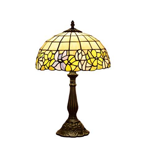 ACHNC Lámpara de Sobremesa Tiffany, Lámpara de Mesa Vintage,Hecho ...