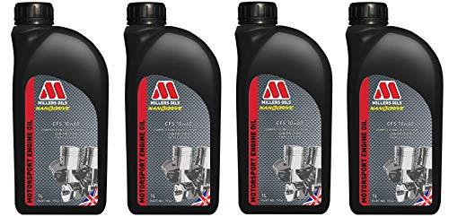 Millers CFS 10W60 - Olio Motore Completamente Sintetico, 4 Litri