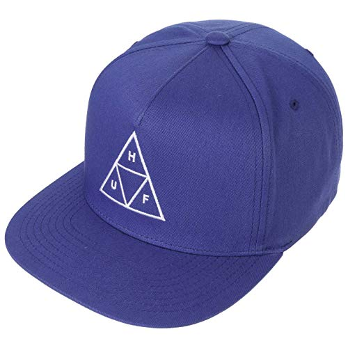 Imagen de huf  triple triangle azul real  ajustable alternativa