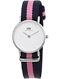 Daniel Wellington - Reloj para mujer, con correa de nailon, color multicolor