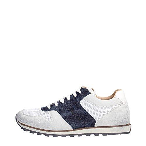 Mcs 161.M.458 165 Sneakers Uomo Tessuto White Denim White Denim 45