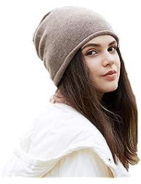 Berretti in maglia Cappello invernale lavorato a maglia cappello di  cashmere caldo cappello femminile marea selvaggio versione coreana… f283f56e7cb4
