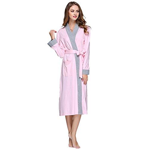 Männliche frau langarm-mantel aus baumwolle/dünne gewand-Weibliche Models (Kimono Robe Erwachsenen Satin)