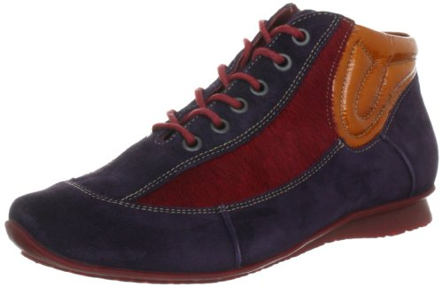 Ital-Design Low-Top Donna, Multicolore (Schwarz Multi BL46P), 39 EU