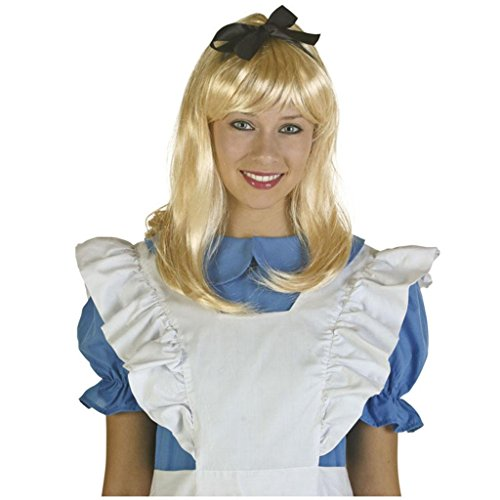 DZW Damen Storybook Alice Blonde Perücke Fairytale Fancy Dress, Gilt für dress up prom , (Monroe Up Dress Marilyn)