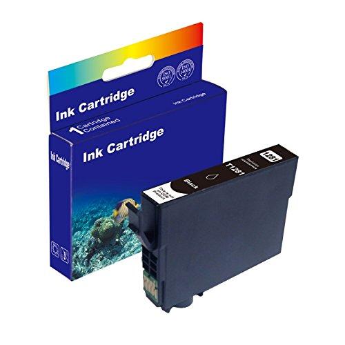 15ml BLACK D&C Druckerpatrone (kein Original) für Epson T1281 Stylus Office BX305f BX305fd BX305fw...