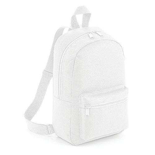 Bagbase Mini Essential Rucksack (Einheitsgröße) (Weiß)