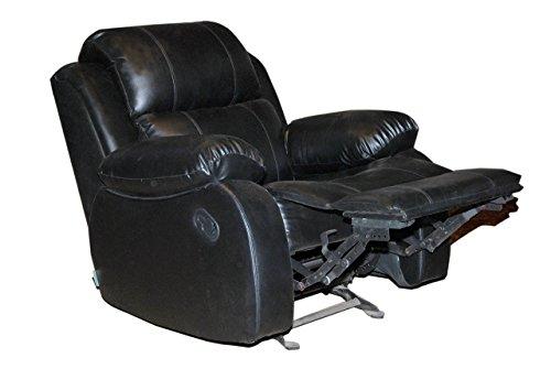Recliners India Style 205 Single Seater Recliner (Matt Finish, Black)