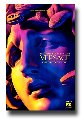 Filmposter Versace, The Assassination of Gianni, American Crime Story, Medusa Face, 28 x 43 cm