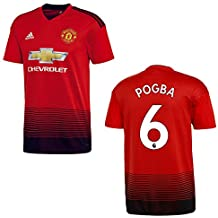 finest selection 91d45 4df05 adidas Manchester United Trikot Home Kinder 2018 2019 - Pogba 6