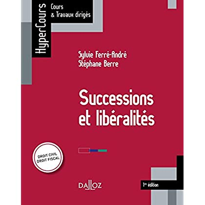 Successions et libéralités: HyperCours