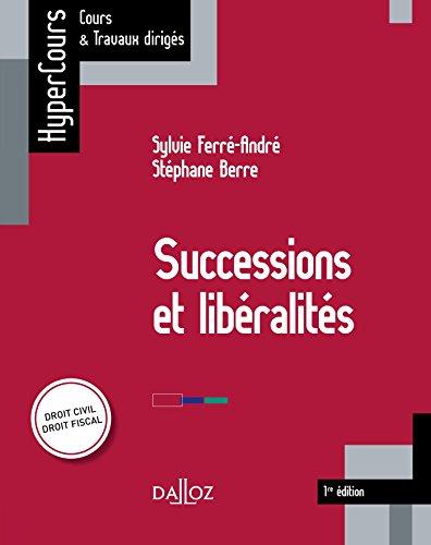 Successions et libralits: HyperCours