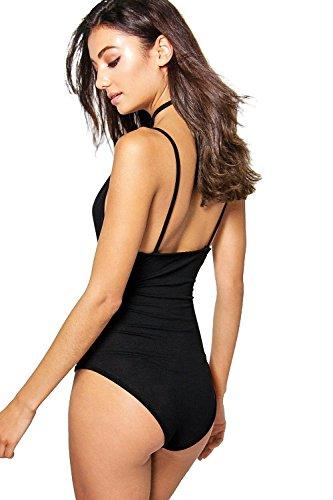 Femmes noires Grand Renae plongeant Body Harness Strap Noir
