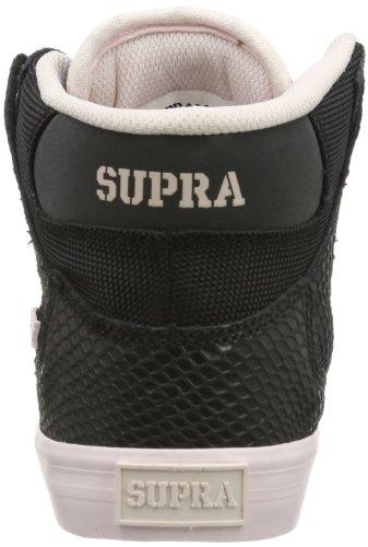 Supra WOMENS VAIDER SW28023 Damen Sneaker Schwarz (BLACK/PINK - WHITE BPN)
