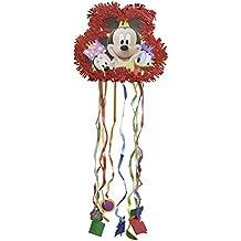Amscan International 81523 - Piñata, diseño de Mickey, Minnie y Donald