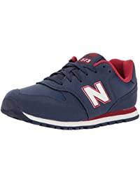 New Balance KJ 373 Kids NDY Navy Red