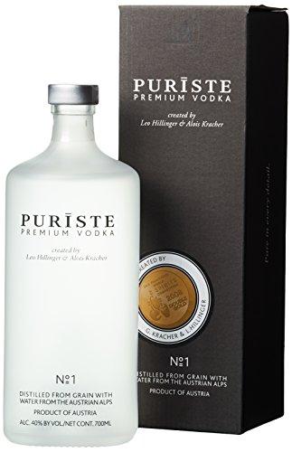 Puriste Premium Wodka No. 1 mit Geschenkverpackung (1 x 0.7 l)
