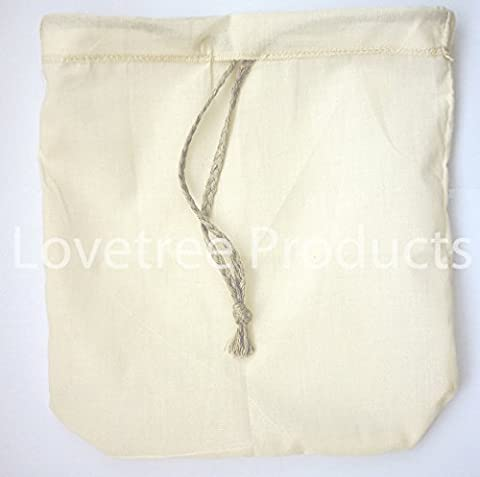 Love Tree Products Organic Cotton Nut Milk Bag - Best