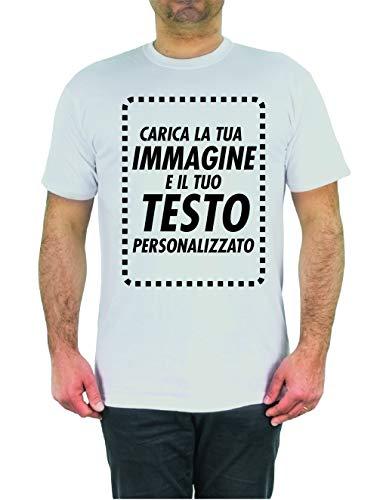T-shirt personalizzata online crea ora la tua maglia con immagine e testo personalizzabile manica corta (xxl uomo)