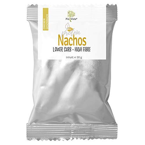 ProVista High Protein Chips 45{acd1b74829aa5ffbad9176a31faffd614ea107159643b845465a2bdc7de8b9cb} - Eiweiss - Tortitos - \'Chicken\' Protein Nachos - 10 x 30g