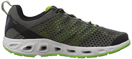 Columbia Drainmaker Iii, Chaussures Aquatiques Homme noir (Black, Nuclear 010)