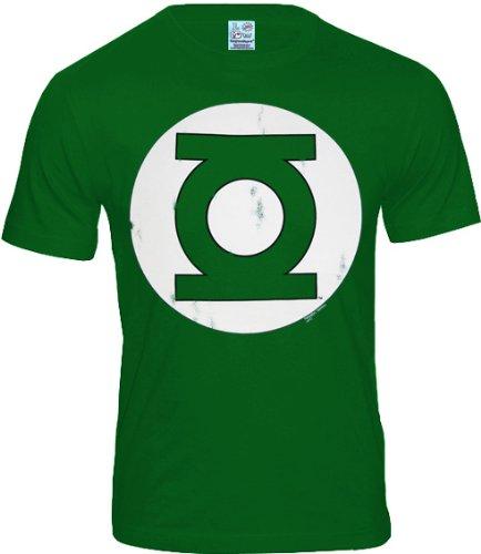 Camiseta vintage linterna verde–Tamaño: S