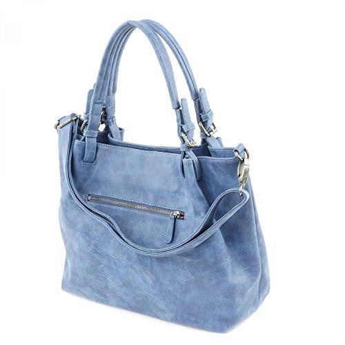 Fritzi aus Preußen Damen Calida Business Tasche, 14 x 31 x 40 cm Blue