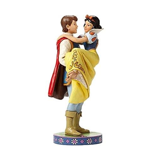 Disney Traditions 4049623 Figurine Blanche Neige dans les Bras du Prince Figurine Multicolore 24 cm