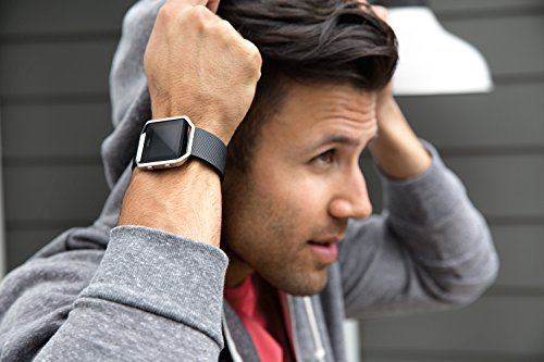 Fitbit Blaze Smart Activity Tracker and Fitness Watch with Wrist Based Heart Rate Monitor – Black/Small
