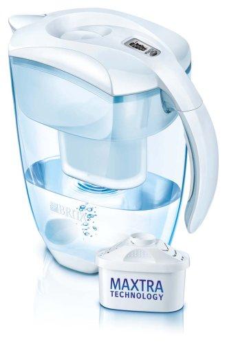 Brita Elemaris XL weiß meter inklusiv 12 Maxtra Filterkartuschen