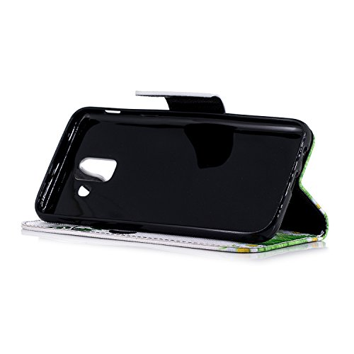 Funda   3D Relief Painting Flip Billetera Samsung Galaxy A6 2018  Patr  n 2