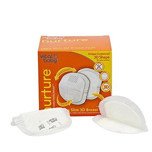 Vital Baby Nurture Ultra fin 3d Coussinets d'allaitement Lot de 40
