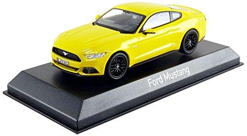 Norev–Miniatur Auto Ford Mustang Schrägheck 2015Maßstab 1/43, 270554, gelb