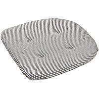 Preisvergleich für CampHiking Japanisches Art-Kariertes Sitz-Kissen, frisches Kariertes Gedrucktes Sitz-Kissen passend für Wohnzimmer, Küche, bequemes Sitz-Kissen für Hauptdekor-Versorgungen