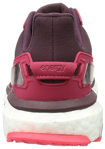 adidas Energy Boost Atr, Scarpe da Corsa Donna Rosso (Dark Burgundy/Maroon/Shock Red)