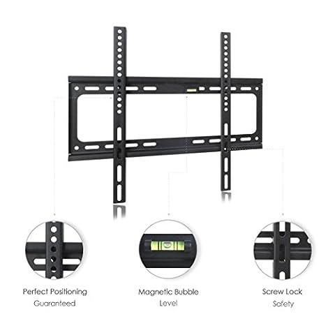 Hamhsin 26–160cm support mural TV universel Niveau Bras de trou standard Bras LED LCD écran plat réglable